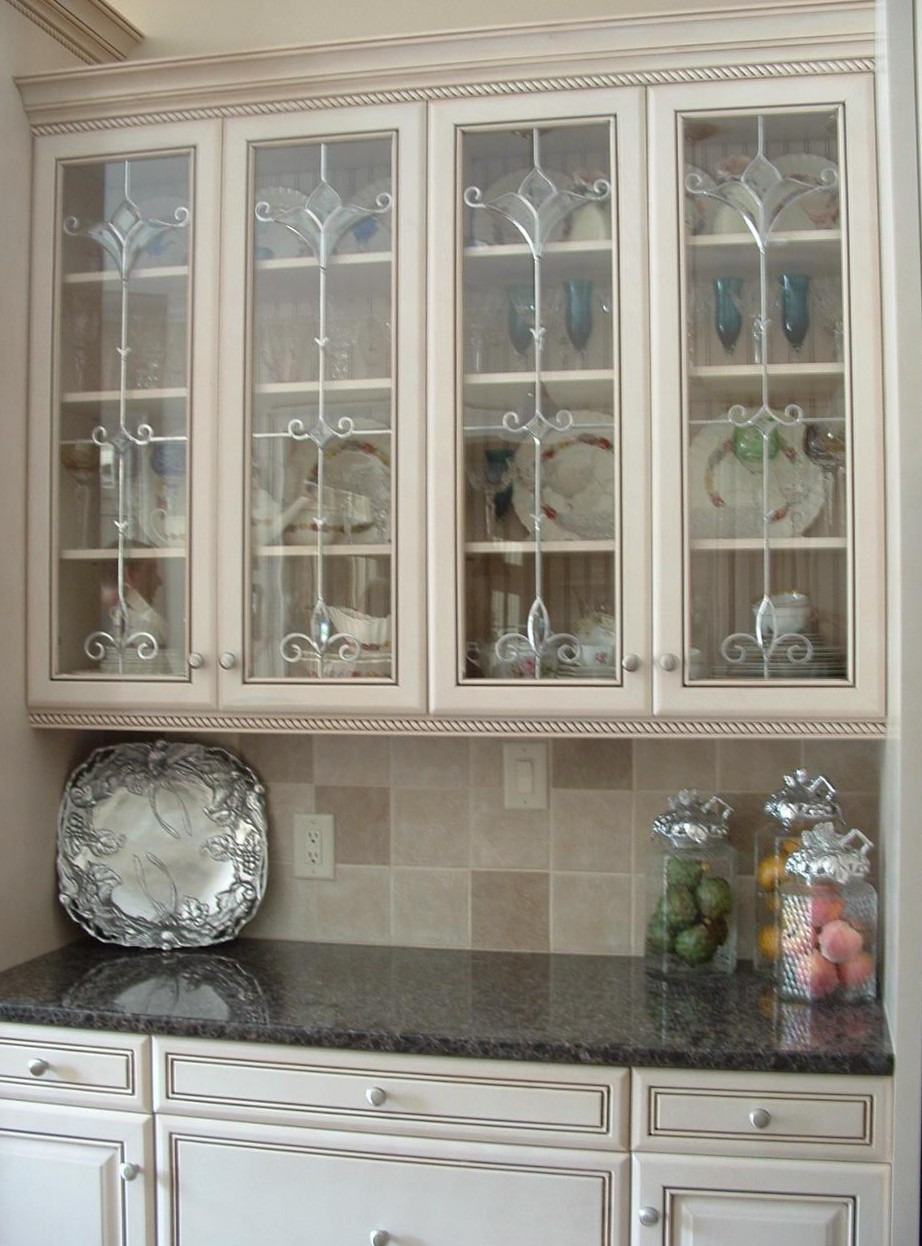 Kitchen Cabinet Glass Inserts