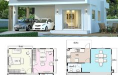 Residential House Plans And Designs Inspirational Modern House Design Plan 7 5x10m With 3beds
