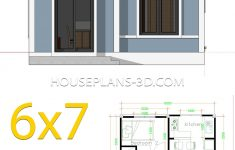 Sample Of Simple House Design Elegant Simple House Plans 6x7 With 2 Bedrooms Shed Roof