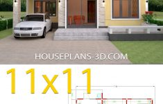 Sample Of Simple House Design Lovely Simple House Design Plans 11x11 With 3 Bedrooms House Plans 3d