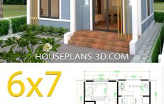 Sample Of Simple House Design Unique Simple House Plans 6x7 With 2 Bedrooms Shed Roof
