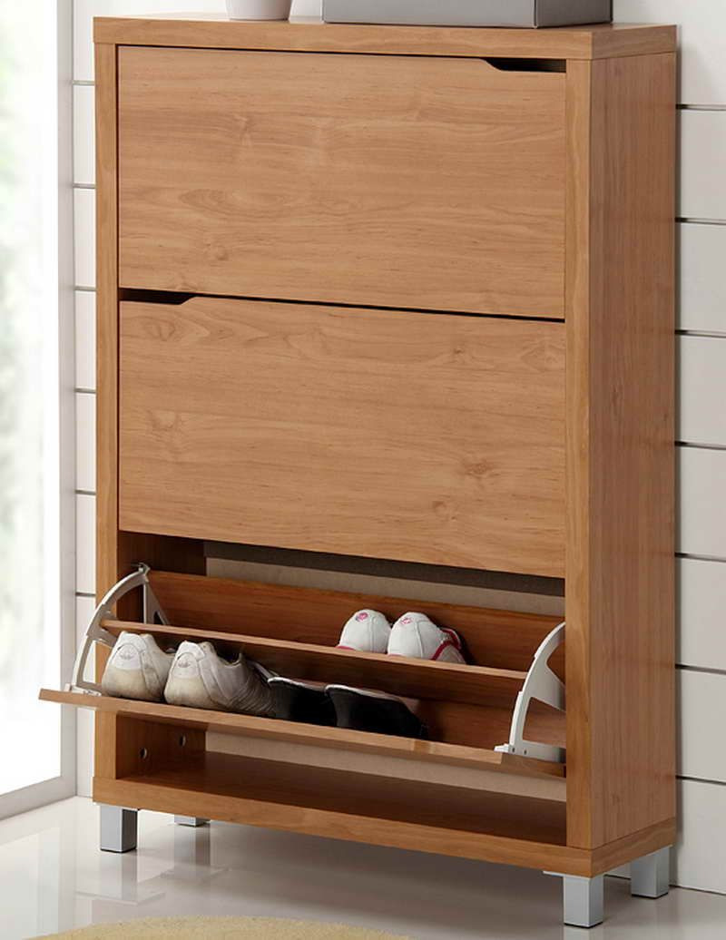modern wooden shoes furniture storage