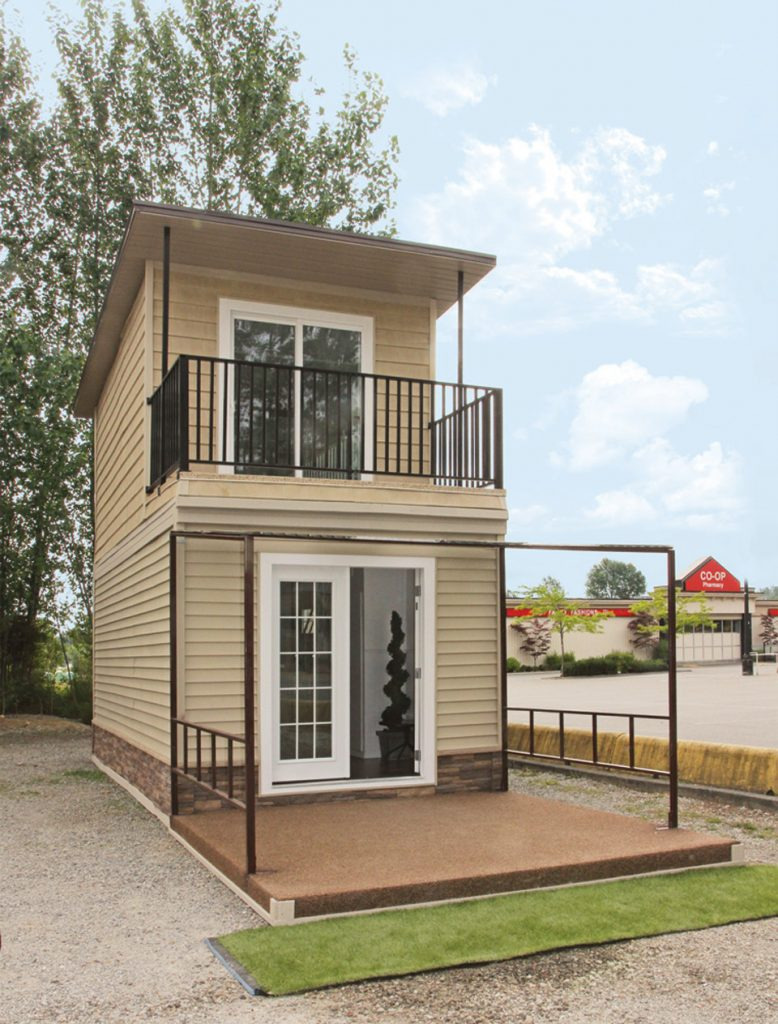 Best Two Story Tiny House 778x1024