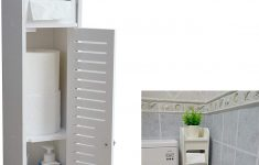 Small Cabinets With Doors Awesome Aojezor Small Bathroom Storage Corner Floor Cabinet With Doors And Shelves Thin Toilet Vanity Cabinet Narrow Bath Sink Organizer Towel Storage