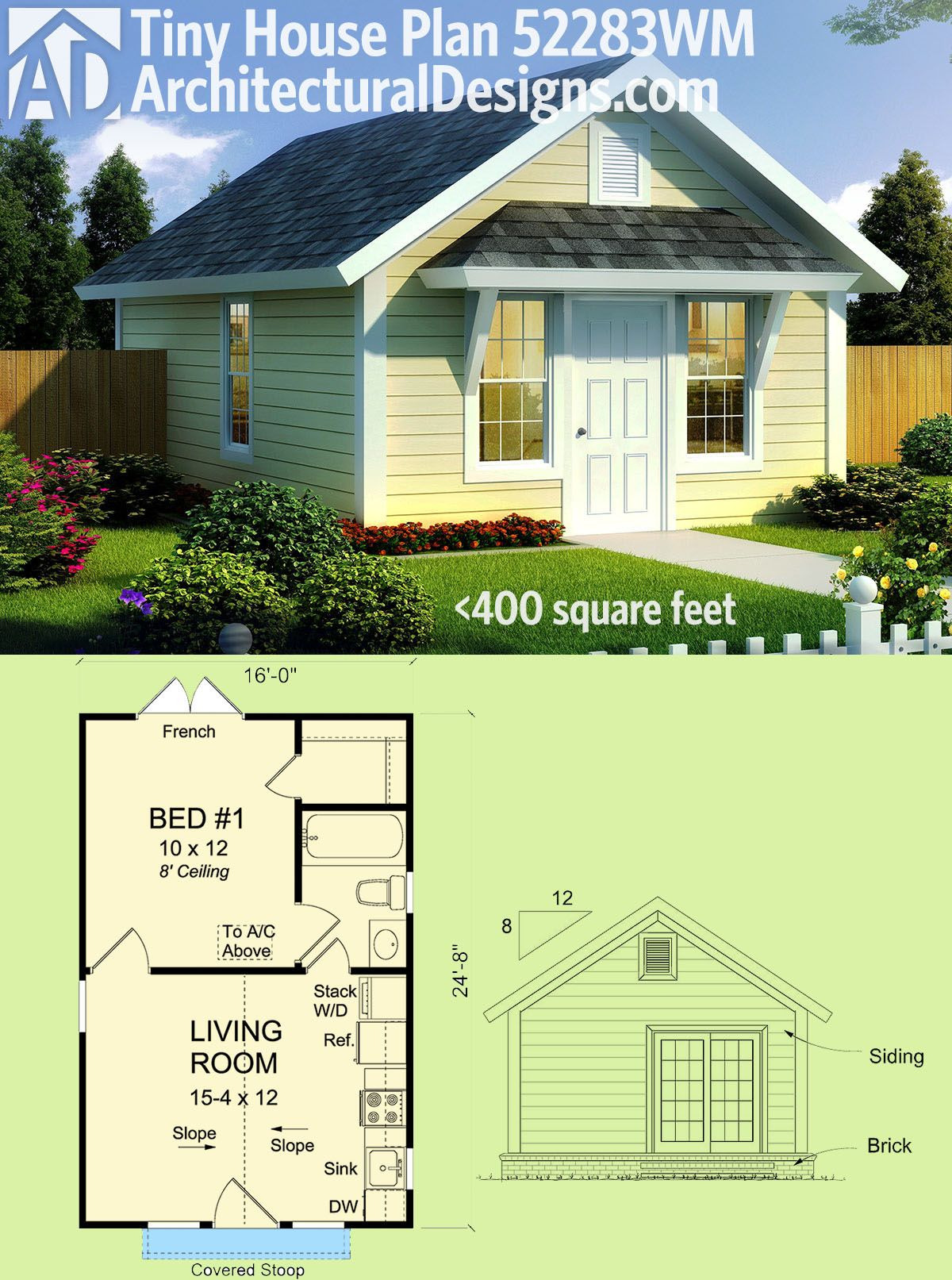 Small Compact House Plans Lovely Plan Wm Pact Tiny Cottage