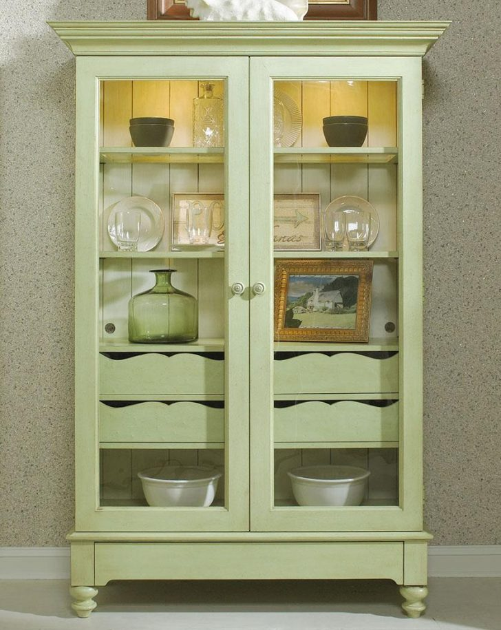 Small Curio Cabinet with Glass Doors 2021