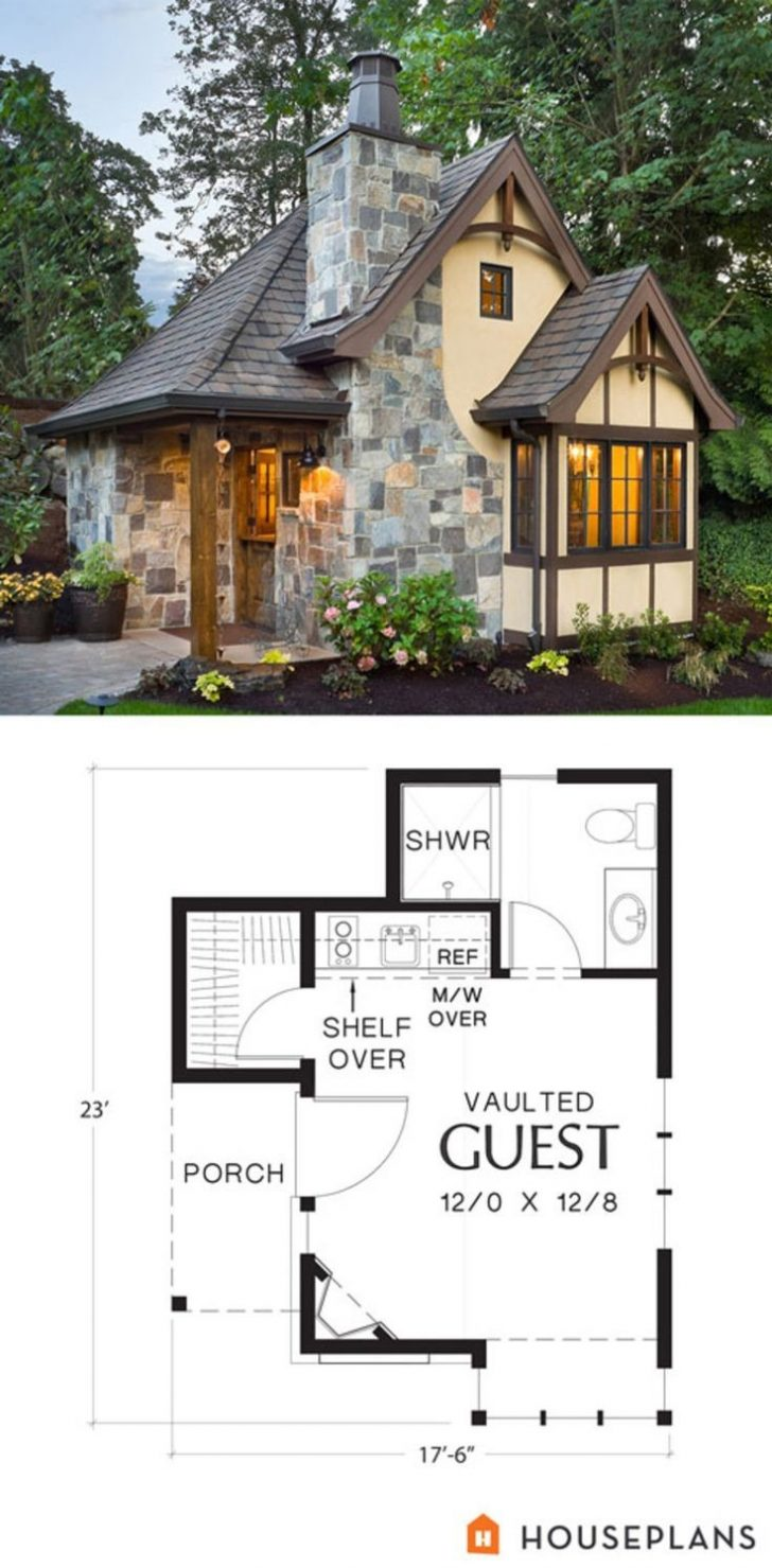 Small French Cottage House Plans 2020