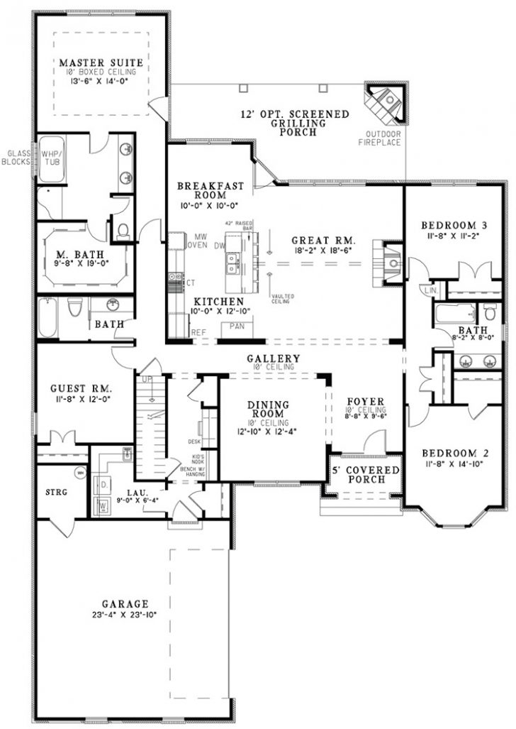 Small House Plans Open Concept 2020