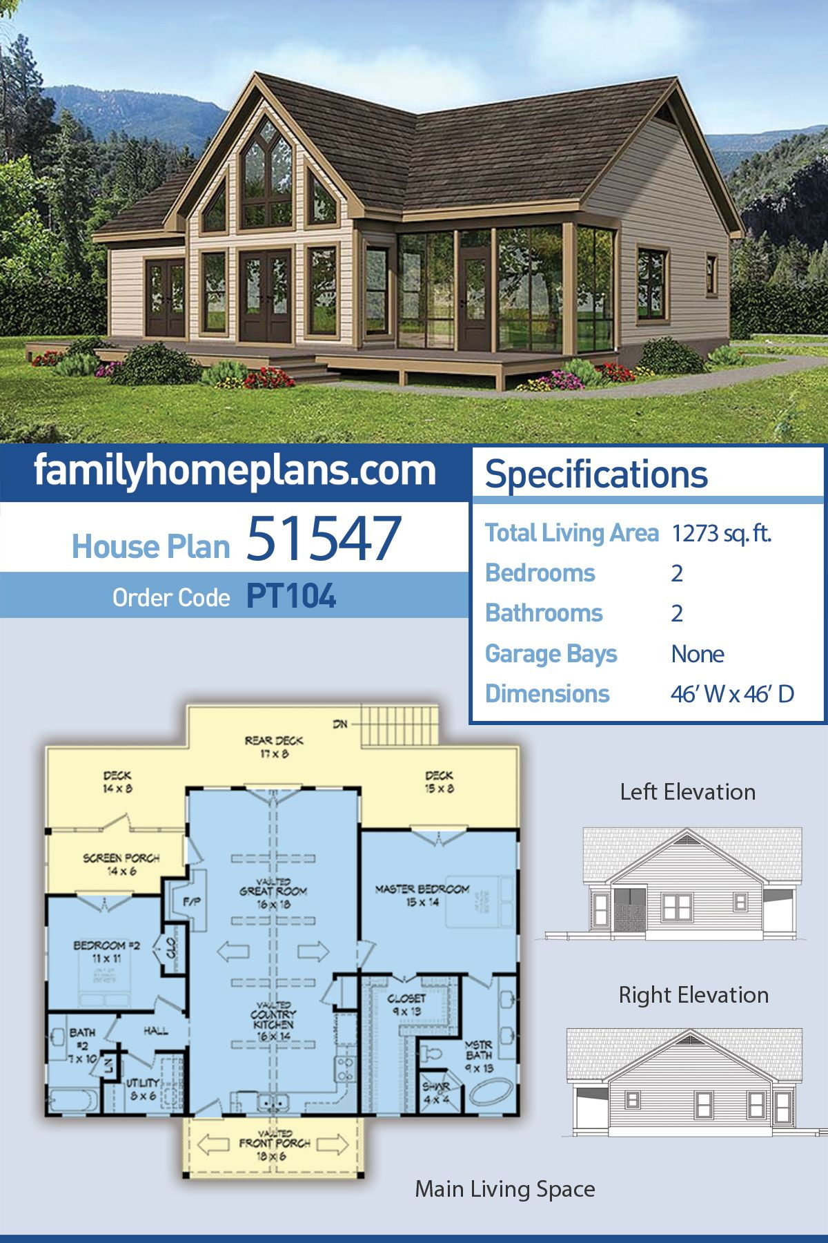 Small Traditional House Plans Beautiful Traditional Style House Plan with 2 Bed 2 Bath