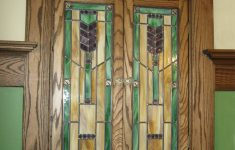 Stained Glass Cabinet Doors Elegant Mission Style Stained Glass Medicine Cabinet Doors