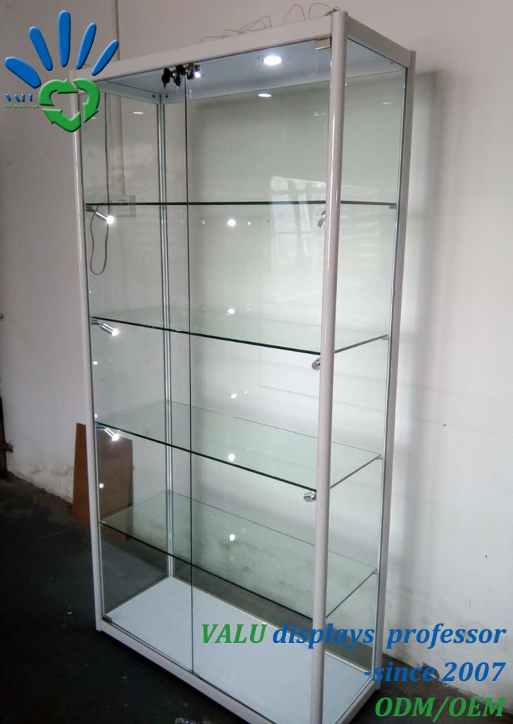 Storage Cabinet with Glass Doors 2021