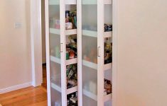 Tall Narrow Cabinet With Doors Elegant Tall Narrow Wall Kitchen Storage Cabinet With Frosted Glass