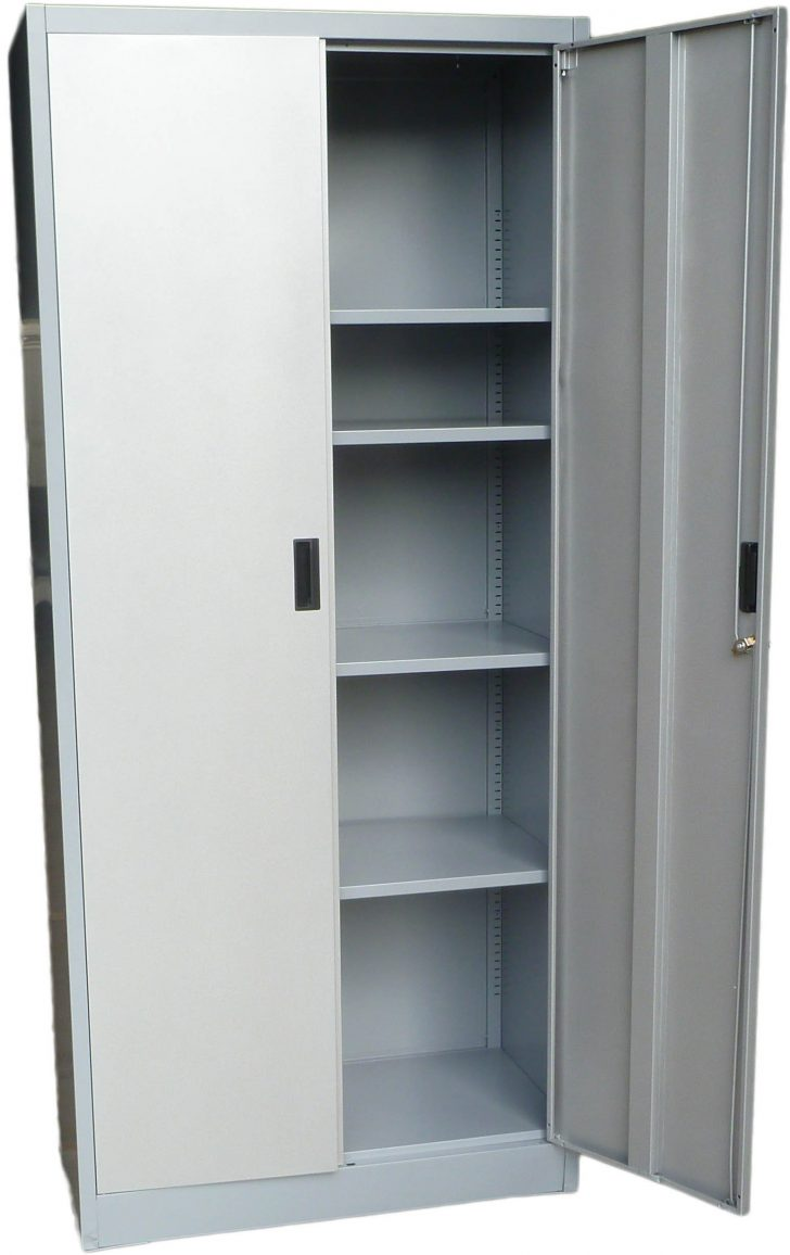 Tall Storage Cabinet with Doors and Shelves 2021
