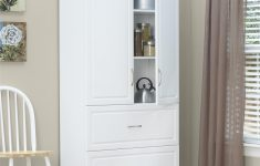 Tall White Cabinet With Doors New Ameriwood Furniture