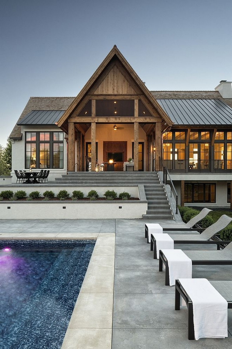 46 Awesome Modern House Design Four Cool Features 10