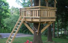 Tree House Plans For Sale Awesome Tree Fort Ladder Gate Roof [finale]