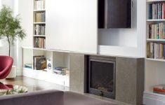 Tv Cabinet With Doors To Hide Tv Luxury Great Idea For Hiding The Tv Could Work In Any Decor