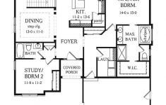 Two Bedroomed House Plans Elegant Ranch House Plans With Basement Bedrooms