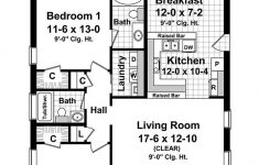 Two Bedroomed House Plans Luxury Cottage Style House Plan 2 Beds 2 Baths 1100 Sq Ft Plan