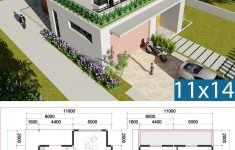 Villa Plans And Designs Luxury 3 Bedroom Villa Design 11x13m