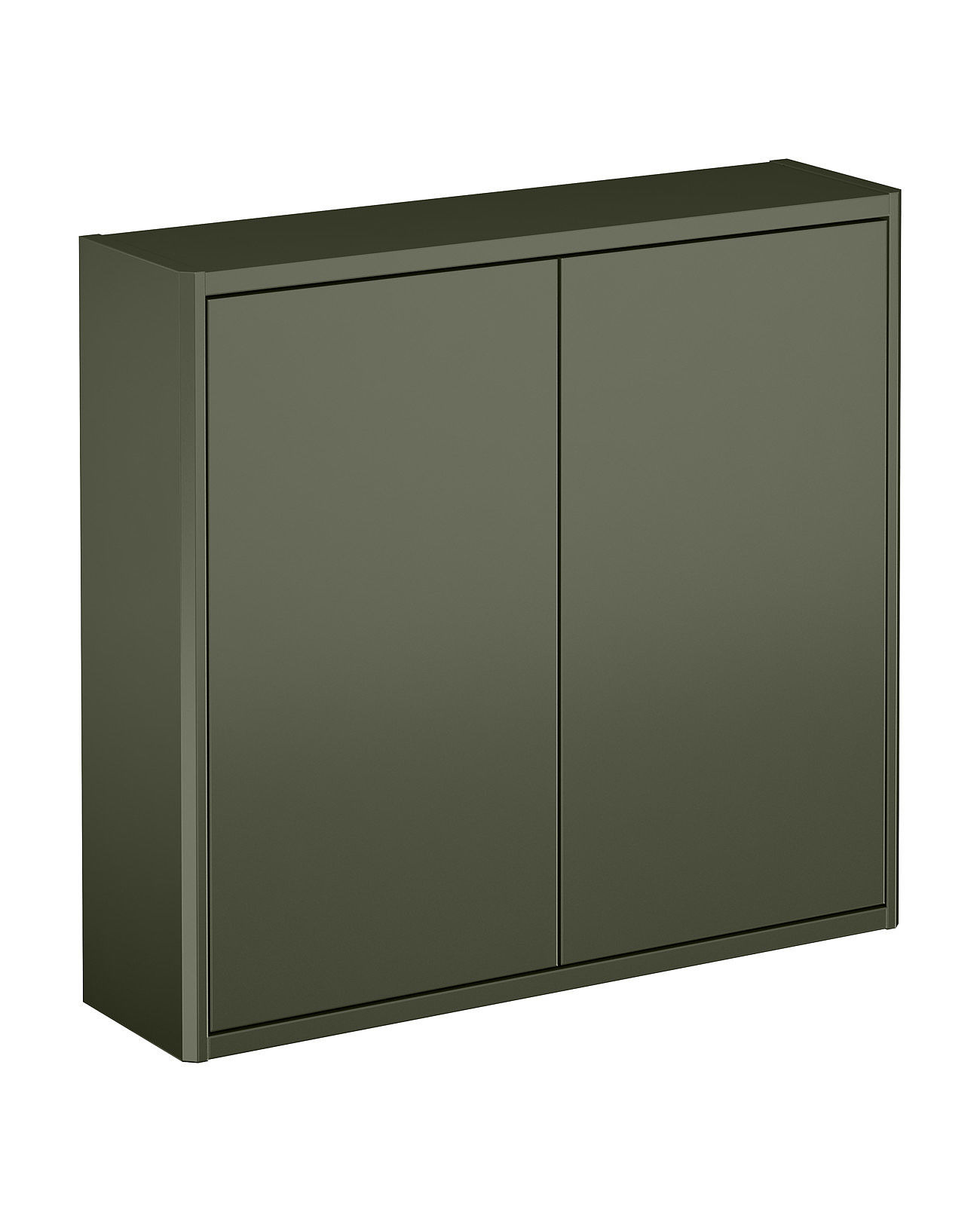 bathroom storage graphic basic wall cabinet smooth green panel 60 x 16 cm