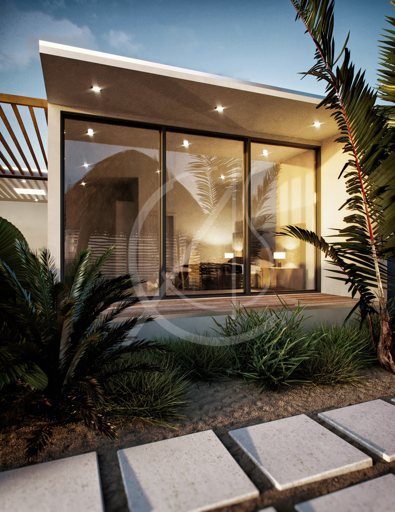 Modern Beach House Design 7