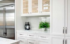 White Kitchen Cabinets With Glass Doors Fresh Tall White Kitchen Cabinets In Lafayette California