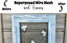 Wire Mesh Cabinet Doors Luxury How To Repurpose Wire Mesh And Frames