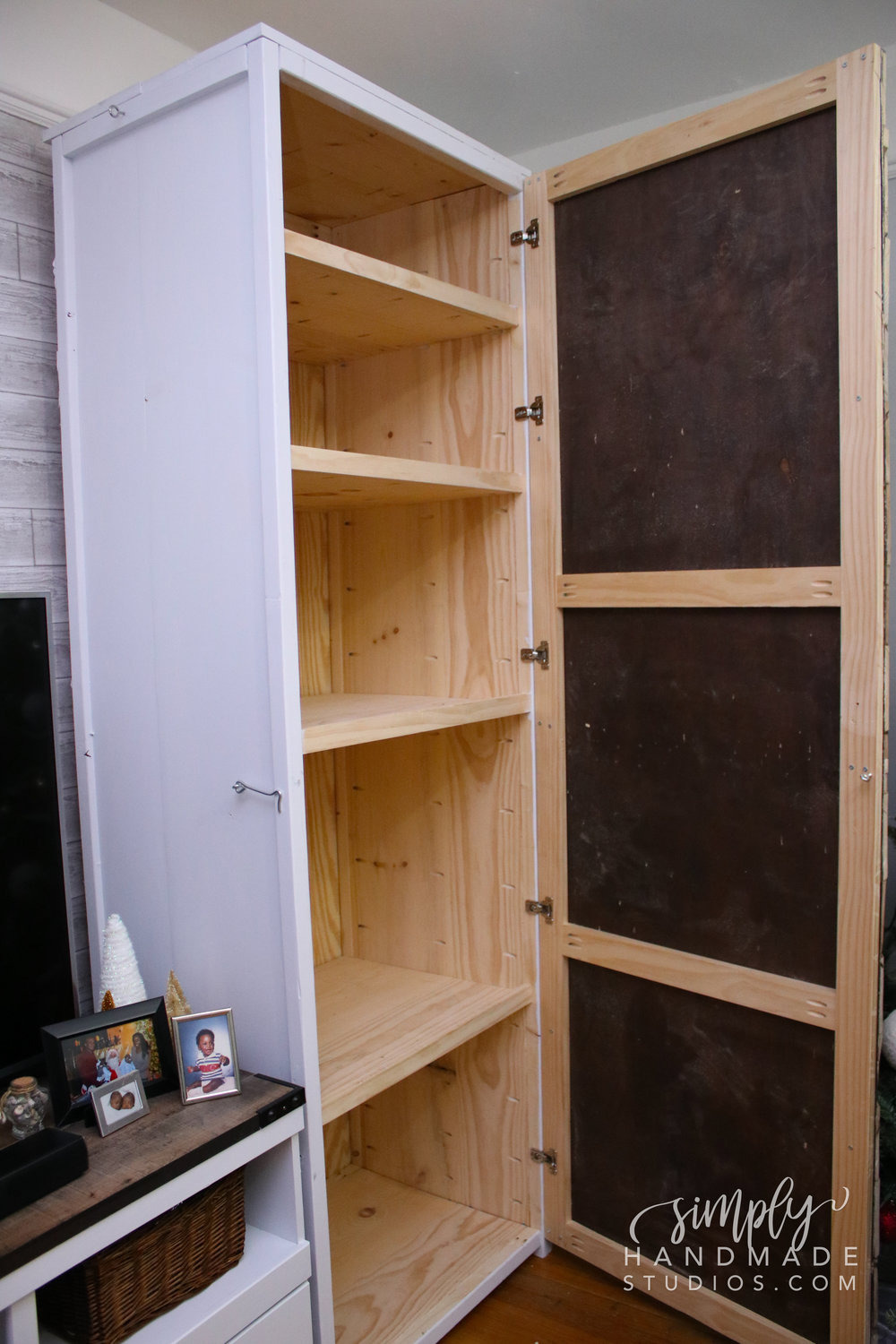 How to build a wood storage cabinet in 9 steps simply handmade studios