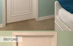 Adding Trim To Flat Cabinet Doors Lovely An Easy & Inexpensive Way To Update Flush Flat Panel