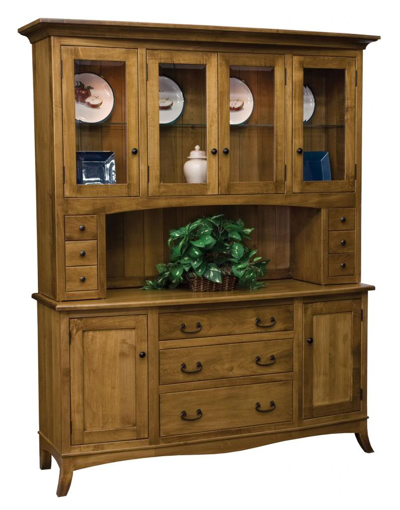 """Amish Cabinet Doors Fresh Details About Amish Farmhouse Cottage Hutch 4 Door Glass solid Wood China Cabinet 67""""w"""