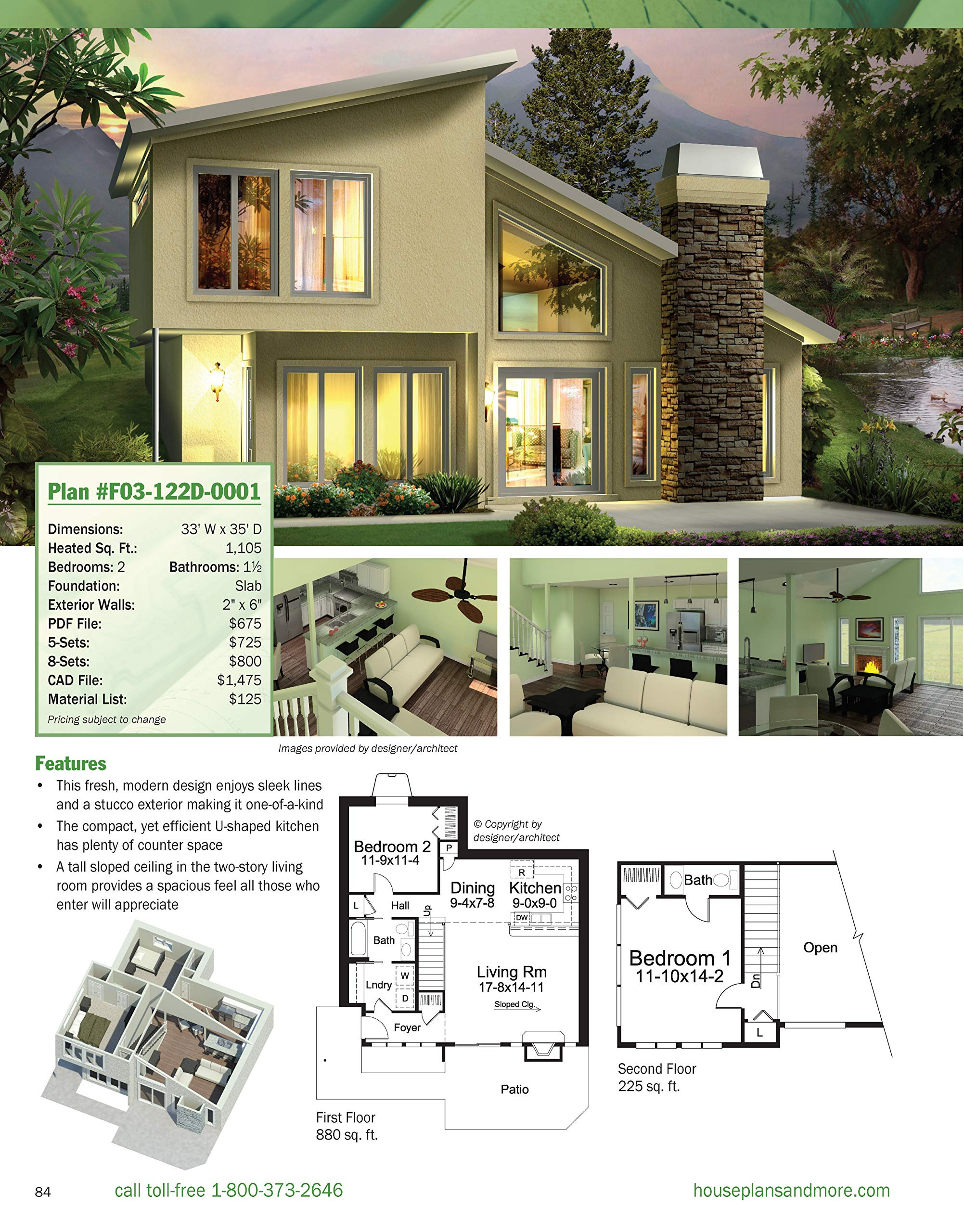 Architect House Plans Free Inspirational the Big Book Of Small Home Plans Over 360 Home Plans Under