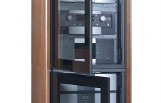 Audio Cabinet With Glass Doors Beautiful Pin On Home Theater Cabinet