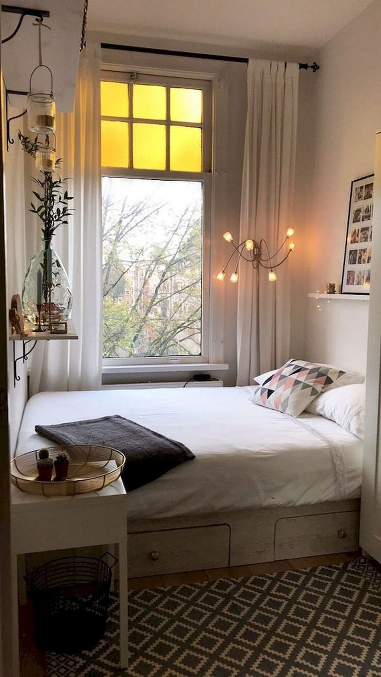 59 Amazing Small Bedroom Ideas For Apartment 26
