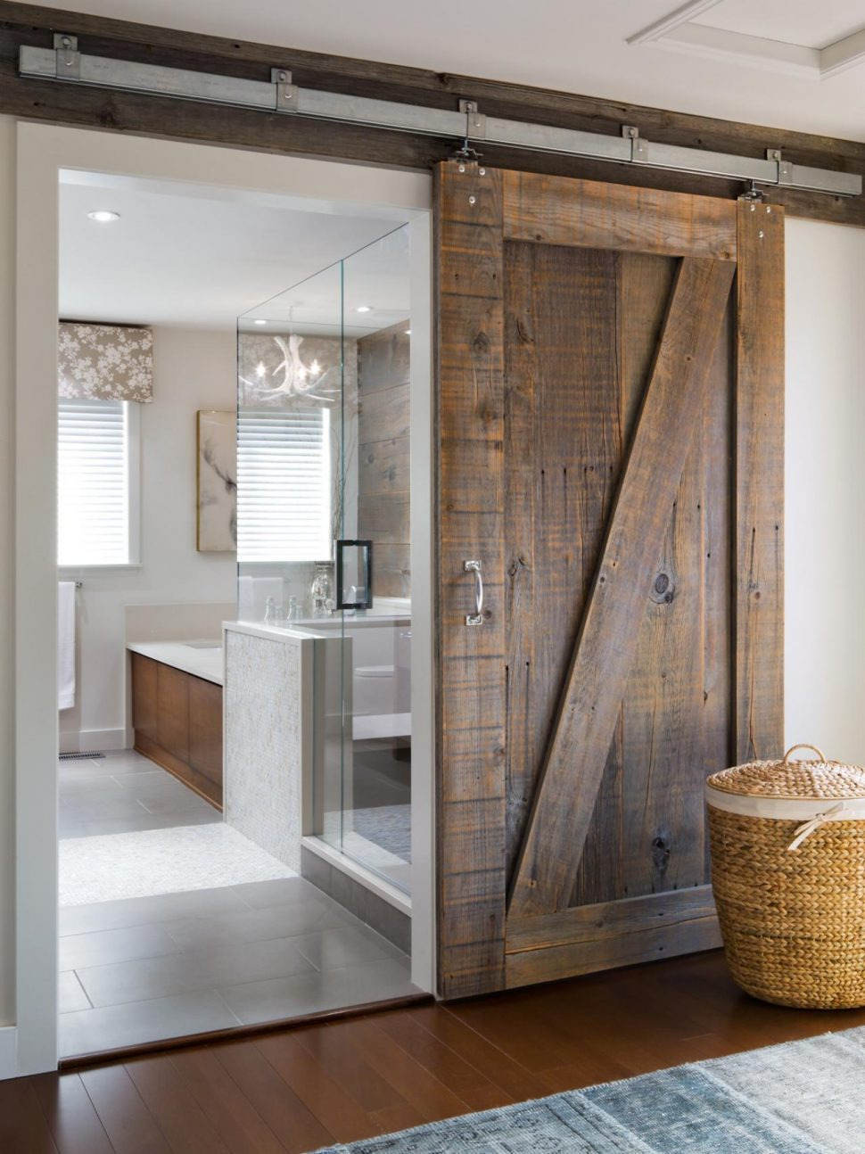 sliding barn door master bathroom doors ideas licious style cabinet vanity home depot mirror for lowes on 970x1294