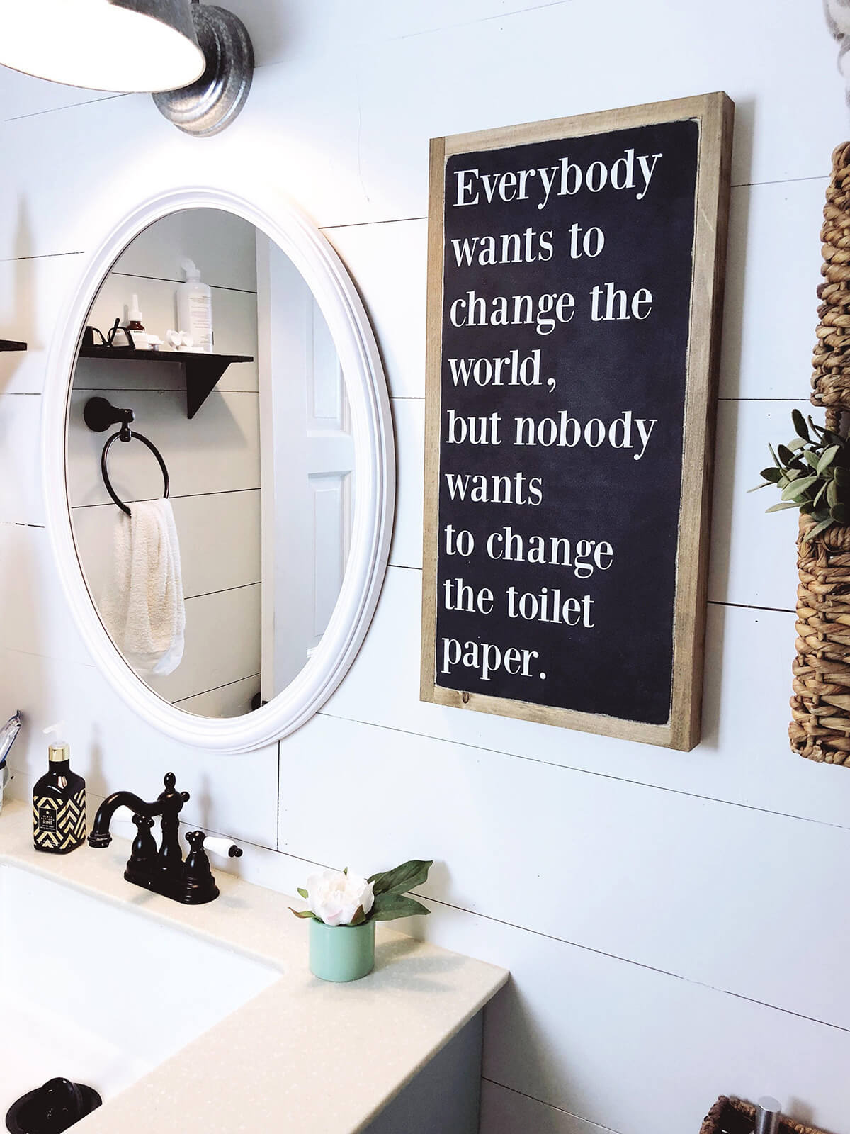 18 bathroom sign ideas homebnc