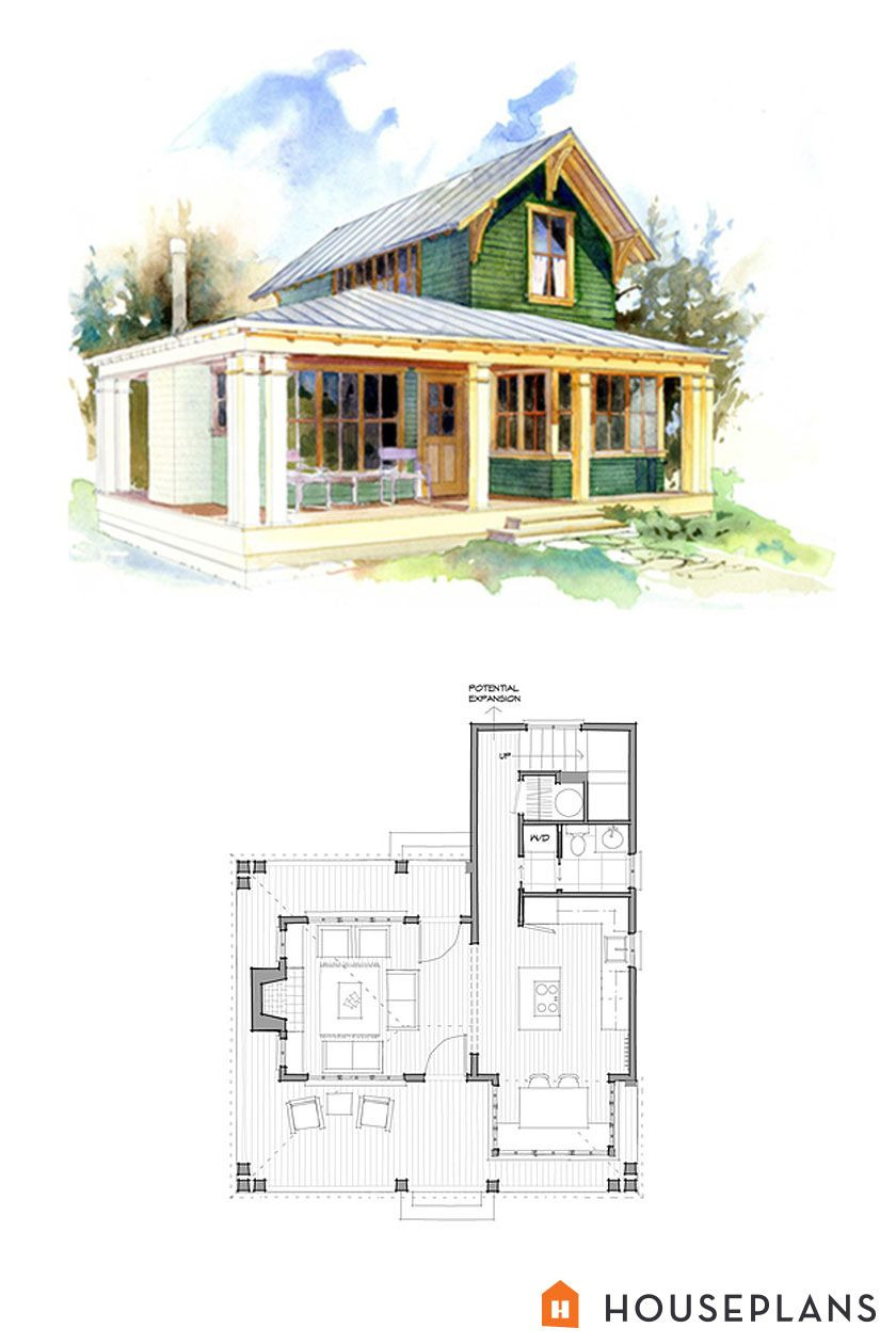 Beach House Plans Small New Cottage Style House Plan 1 Beds 1 Baths 796 Sq Ft Plan