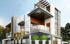 Beautiful Building Elevation In Front Beautiful Exterior By Sagar Morkhade Vdraw Architecture