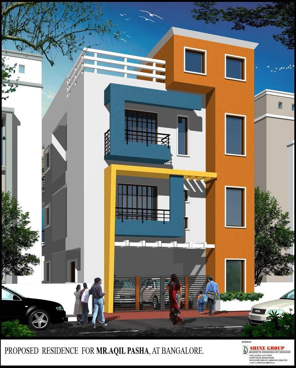 Beautiful Building Elevation In Front Luxury Beautiful Elevation for A Three Storey House Gharexpert