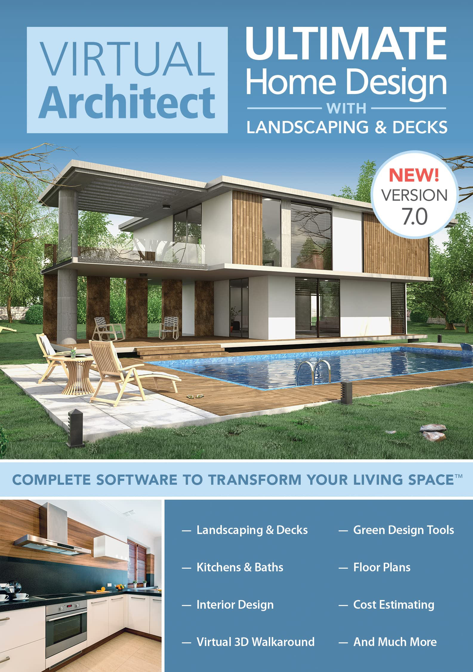 Best software for House Plans Best Of Virtual Architect Ultimate Home Design with Landscaping and Decks 7 0 [download]