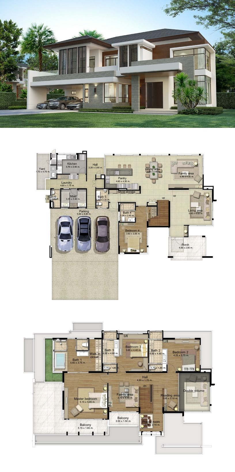Big Modern House Plans Beautiful Land and Houses