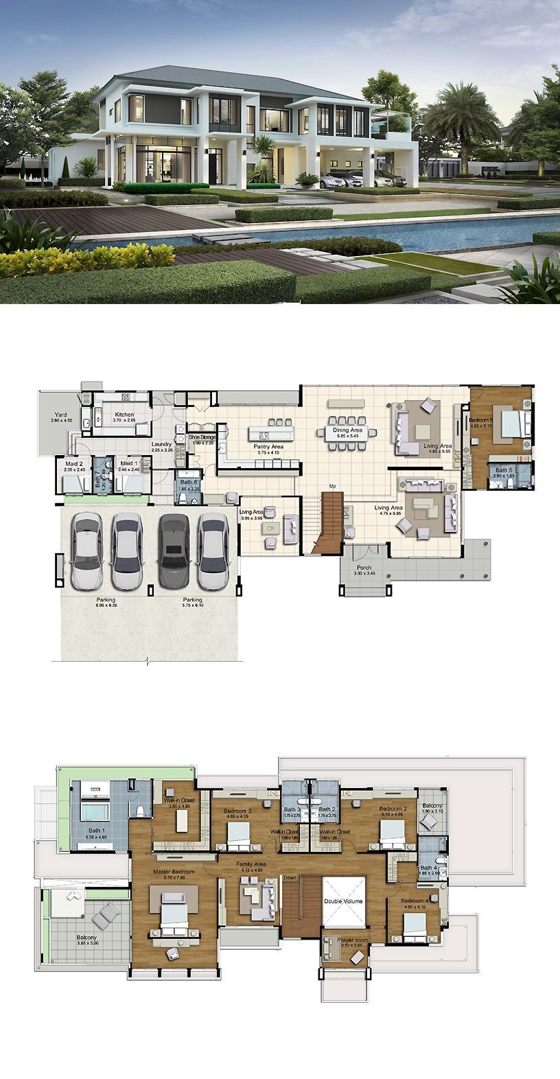Big Modern House Plans Beautiful Land and Houses with Images