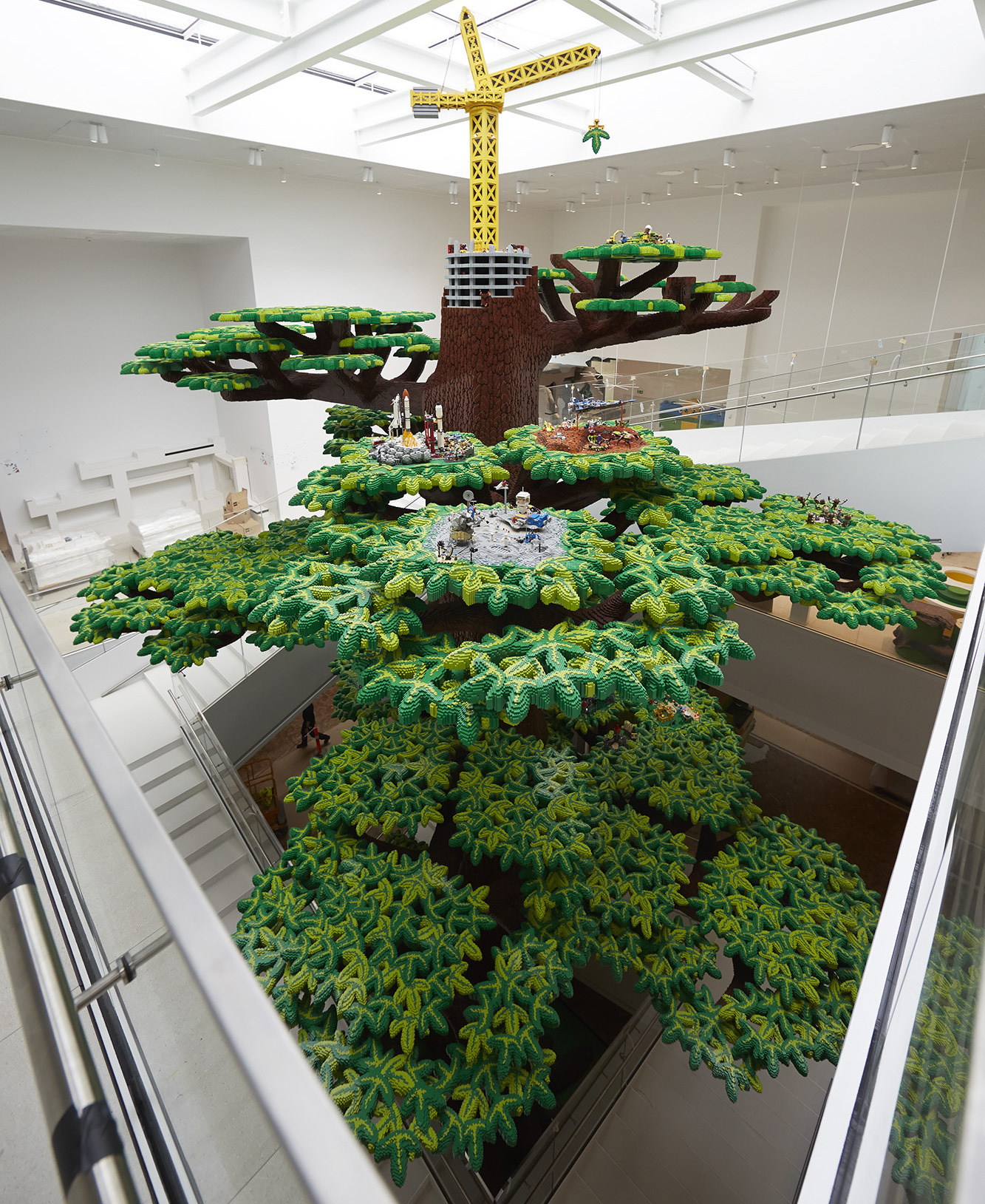 Biggest House Ever Made Beautiful Denmark S Real Life Lego House Has Opened to the Public