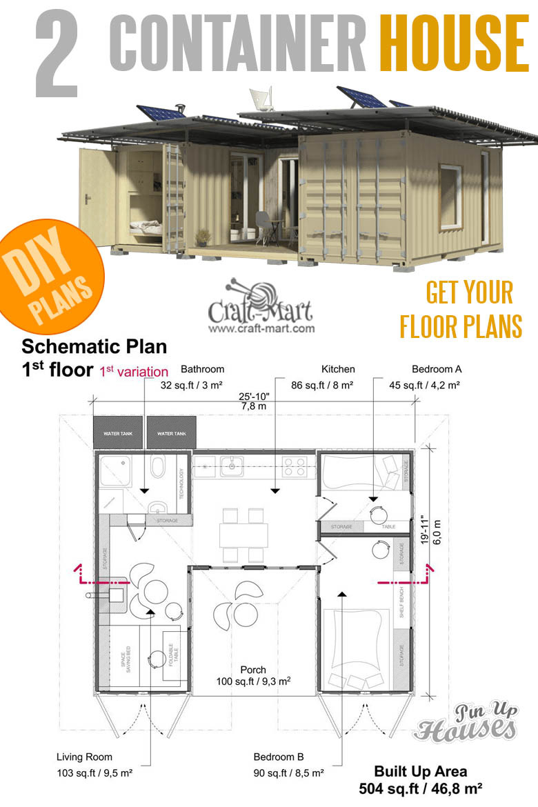 Build House Floor Plan Best Of 16 Cutest Small and Tiny Home Plans with Cost to Build