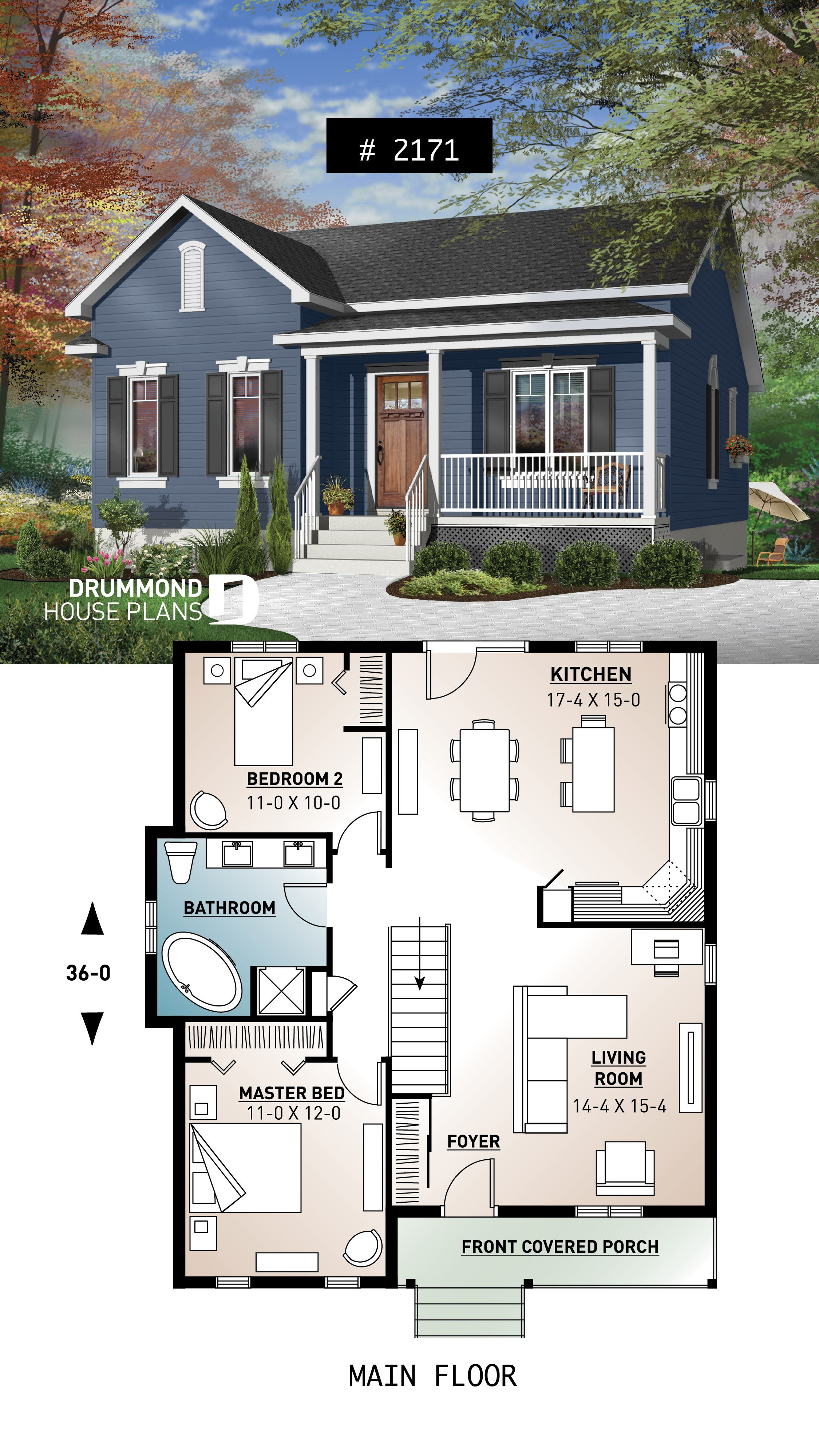 Building Plans for Small Houses Lovely House Plan Kara No 2171