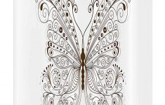 Butterfly Bathroom Decor Inspirational Amazon Butterfly Stall Shower Curtain Butterfly