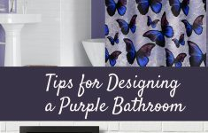 Butterfly Bathroom Decor Lovely Designing A Purple Bathroom With Free Printable Iris