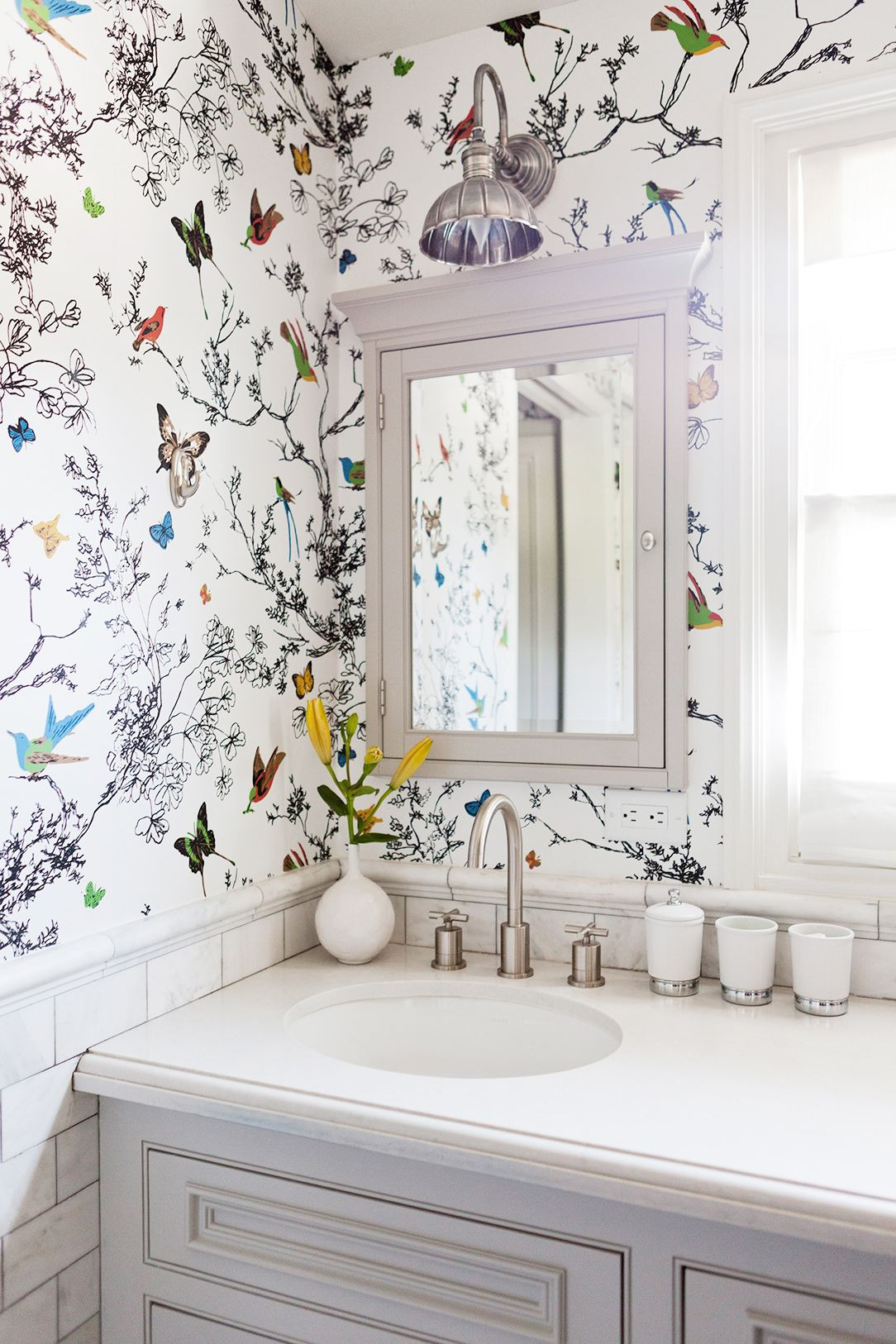 Butterfly Bathroom Decor Luxury This Insanely Chic L A Home Will Give You Goosebumps