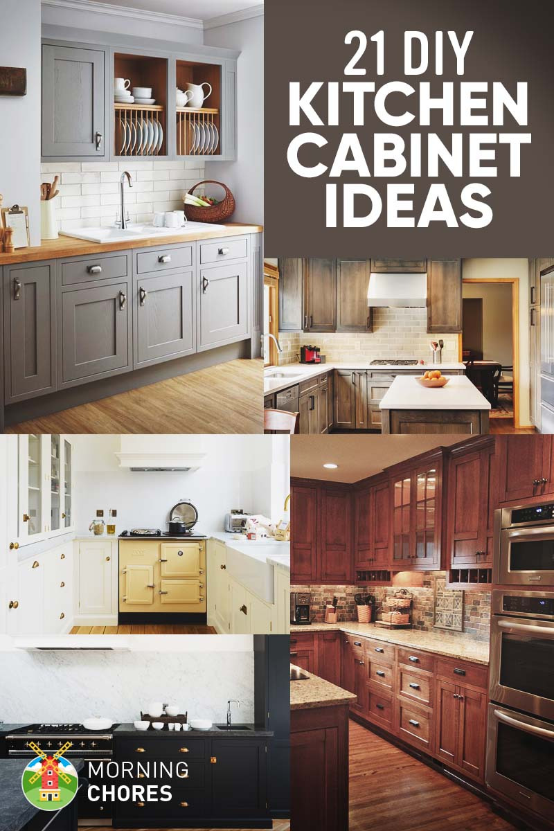 21 DIY Kitchen Cabinets Ideas and Plans