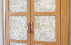Cabinet Door Glass Fresh Fabric Backed Cabinet Doors